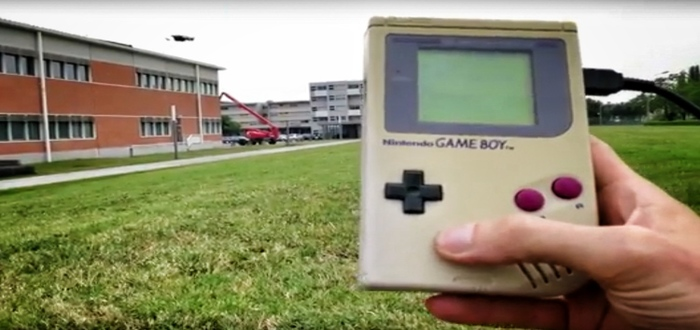 Hacker Controls Drone With a Game Boy
