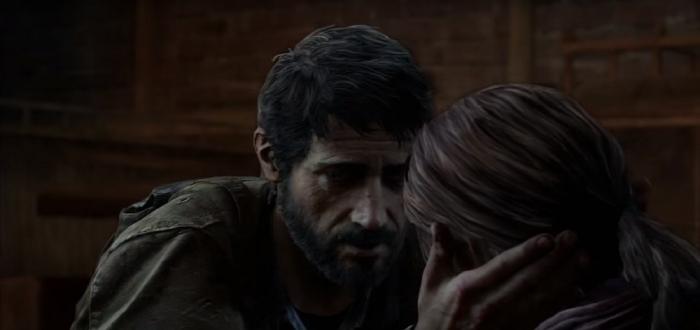 Joel Comforts Ellie