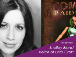 Shelley Blond Lara Croft