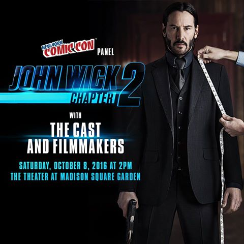 John Wick: Chapter Two NYCC