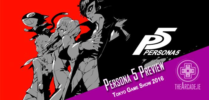 Persona 5 – Tokyo Game Show 2016