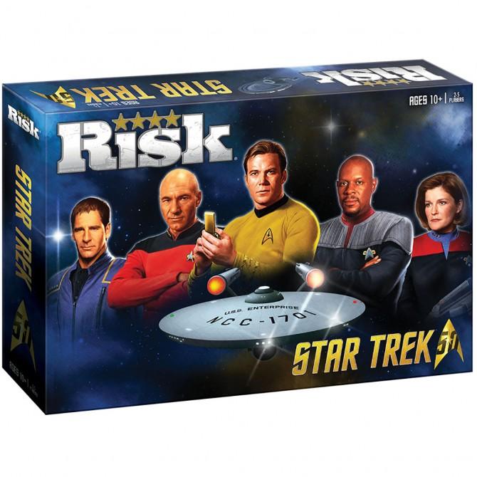 Risk Star Trek 50th Anni Ed