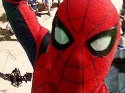 Set Photos of Spider-Man