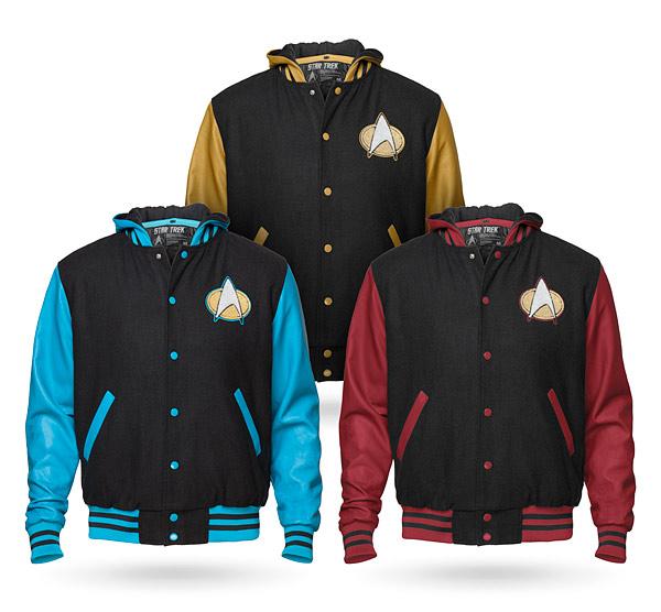 Think Geek Star Trek Varsity Jackets