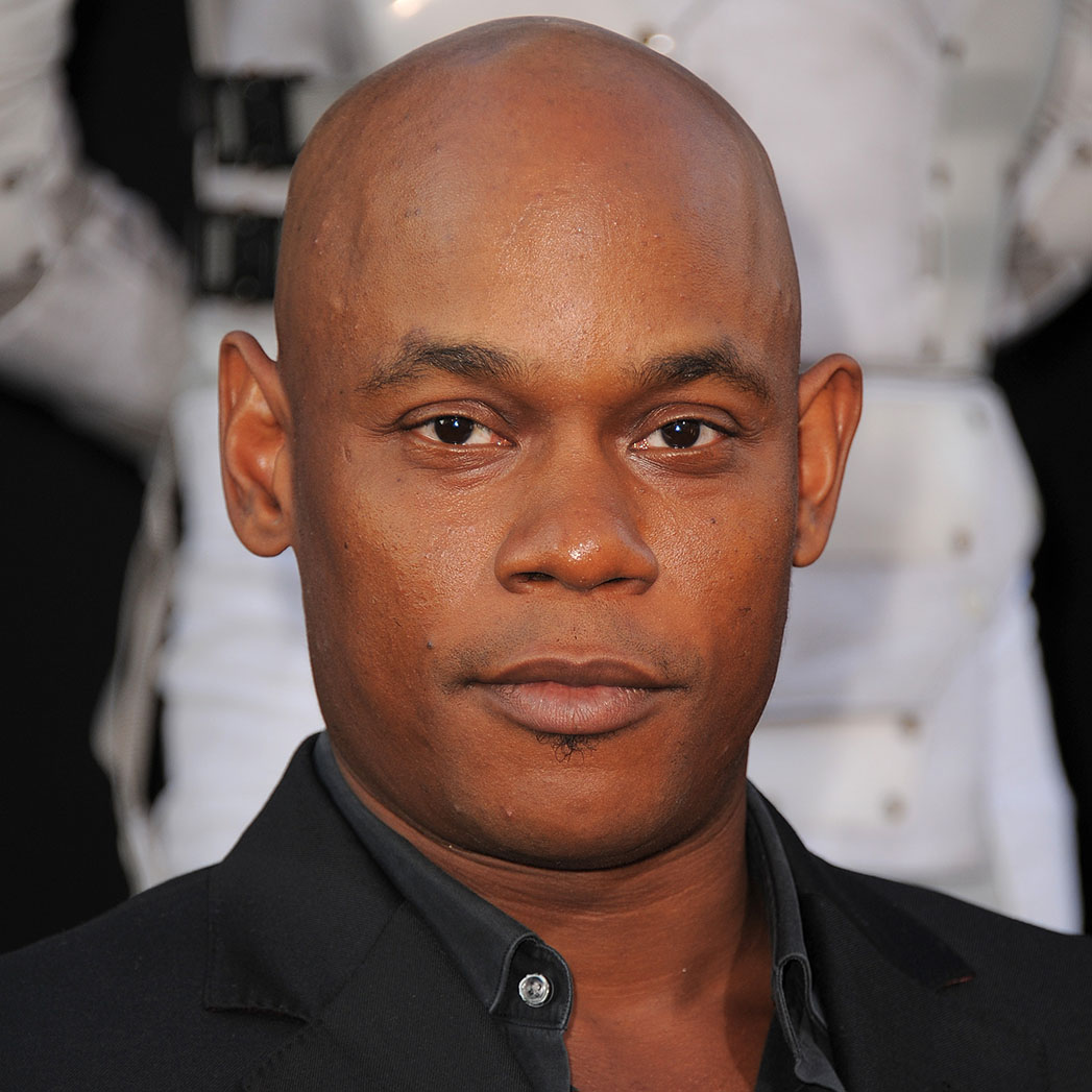 """Bokeem Woodbine arrives at the """"Total Recall"""" premiere on Thursday, Aug. 1, 2012 in Los Angeles, Calif. (Photo by Jordan Strauss/Invision/AP)"""