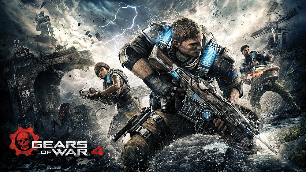 Treat Your Eyeballs To 20 Minutes Of Gears Of War 4