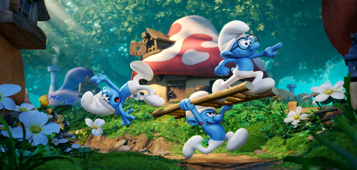 Official Trailer For Smurfs: The Lost Village Released