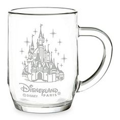 Disneyland Paris Glass Mug