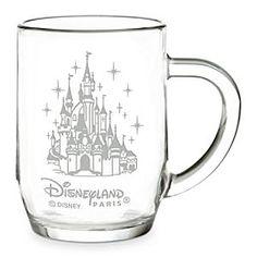 Disneyland Paris Glass Mug