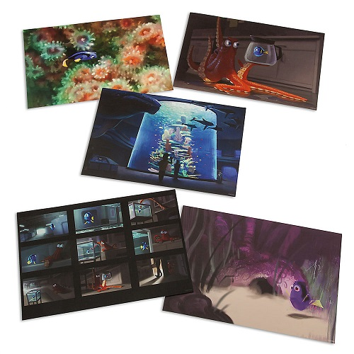 Finding Dory Lithographs
