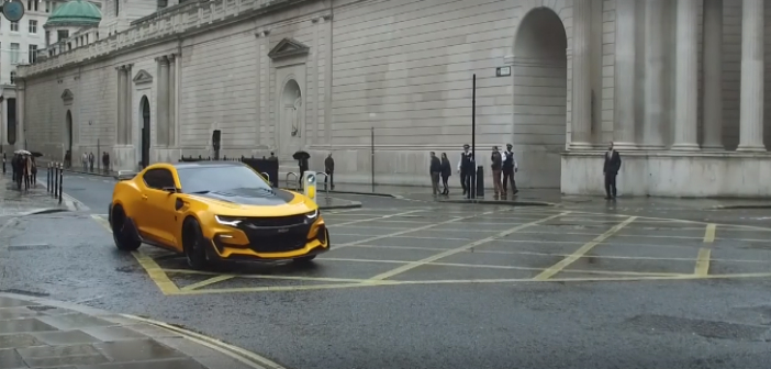 Set Video Shows Transformers: The Last Knight Car Chase