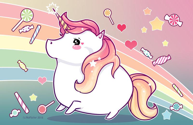 majestic_unicorn_by_noflutter