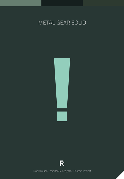 Minimalist Videogame Poster – Gallery – The Arcade