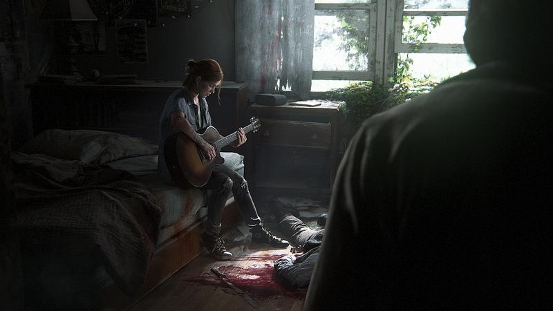 Ellie And Joel The Last Of Us Part II