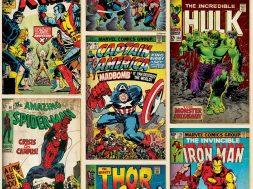 Marvel Comics Header Unsized