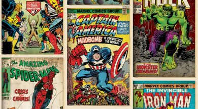 Marvel Comics Header Unsized