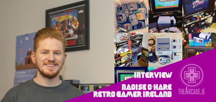 Naoise O'Hare Retro Gamer Ireland