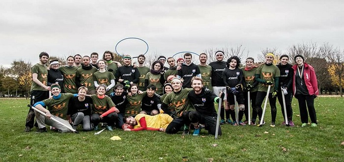 Emerging Belfast Quidditch Team Heading for UK Tournament This Weekend