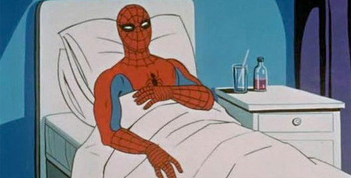Work Sick Spiderman