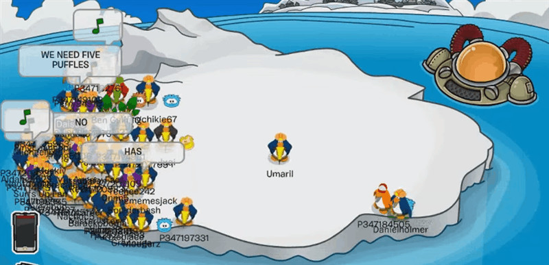 Tipping The Iceberg In Club Penguin