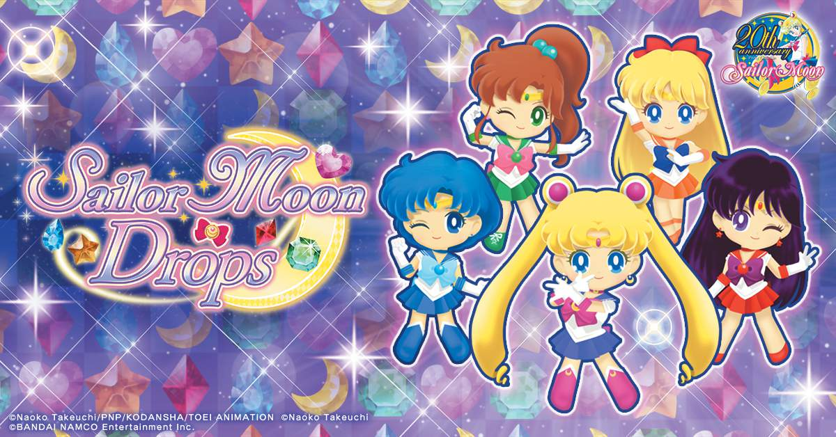 Sailor Moon Drops Celebrate One Year Anniversary