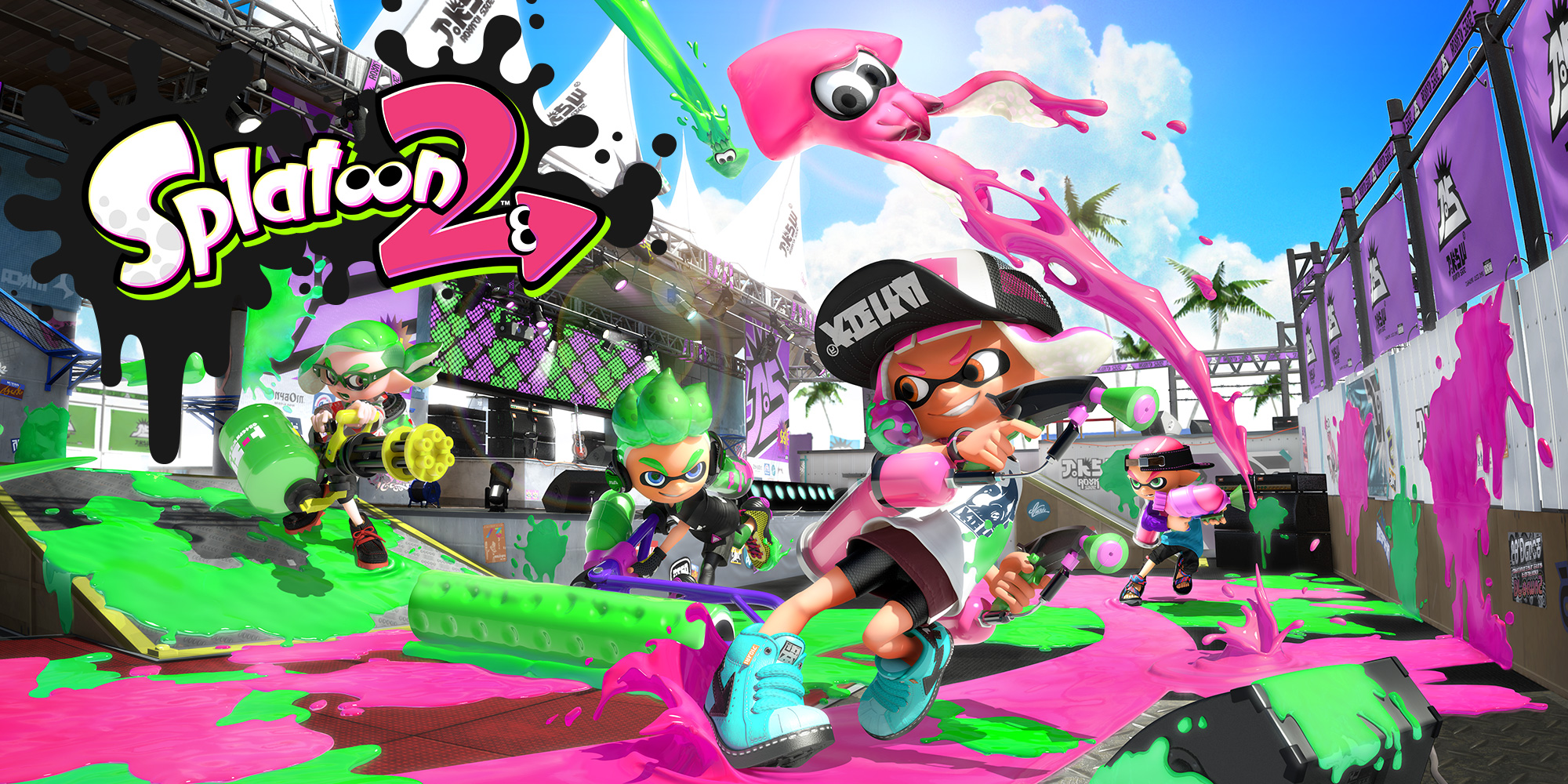 Get Ready To Splat With Splatoon 2 This Weekend