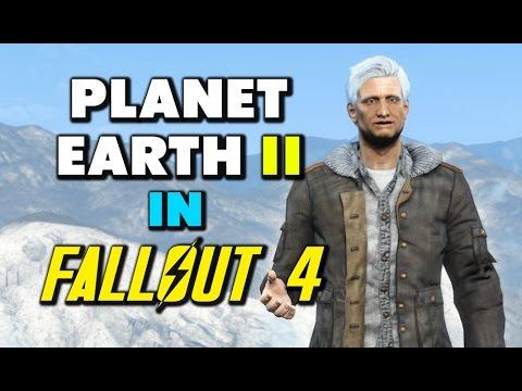 Sir David Attenborough Fallout 4 Parody