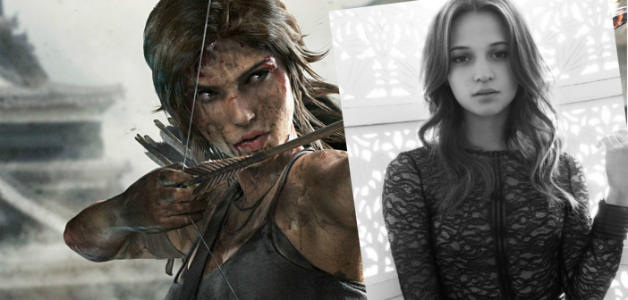 First Images of Alicia Vikander In New Tomb Raider