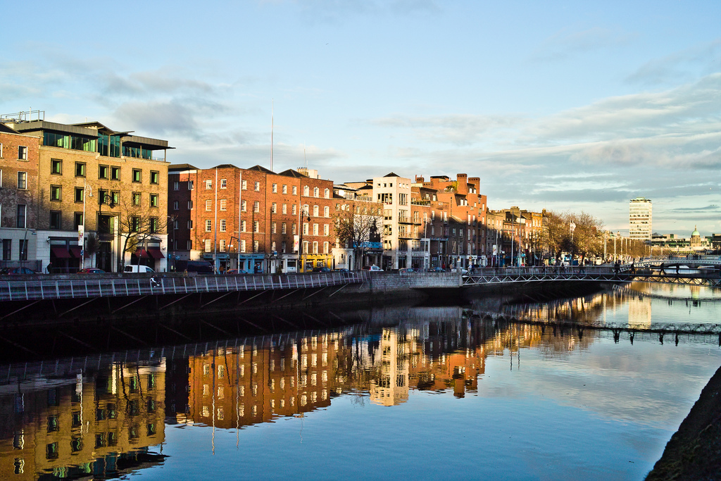A Sunny Day In Dublin City