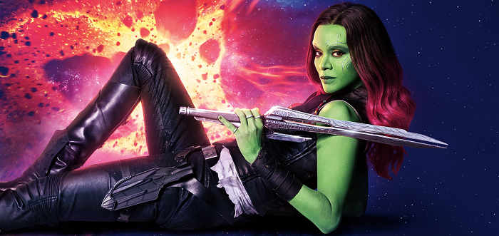 Watch Zoe Saldana's Gamora Makeup Process In Timelapse