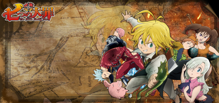 Seven Deadly Sins Manga Gets Action Game For PS4