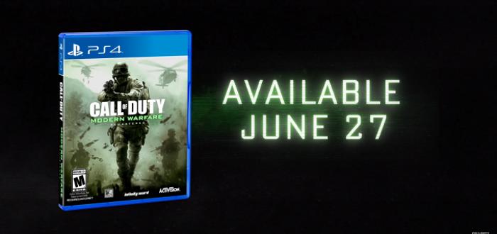 Call Of Duty 4: Modern Warfare Remastered Solo Release