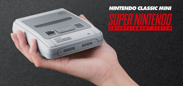 Nintendo Classic Mini Super NES Announced