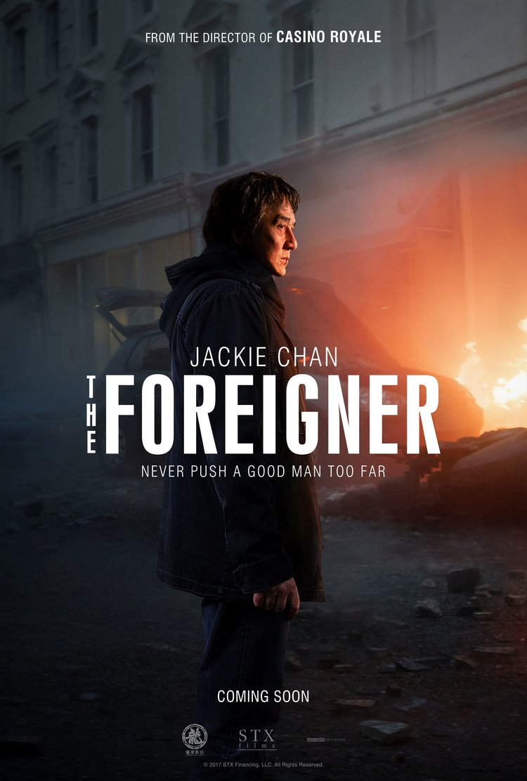 Jackie Chan Fights Irish Terrorism In The Foreigner