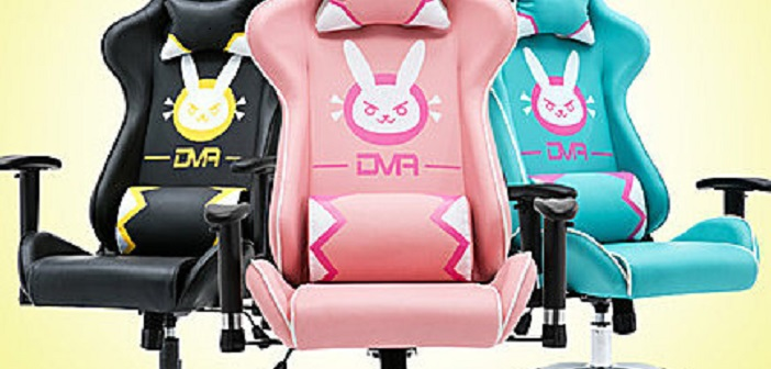 Overwatch D.VA Gaming Chair – Must Have