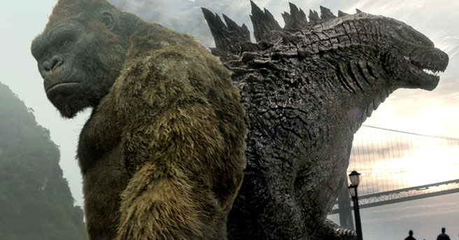 Godzilla Vs Kong To Be 'A Massive Monster Brawl Movie'