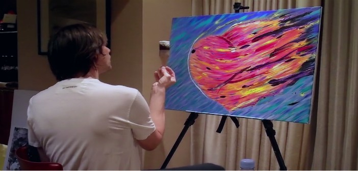 Jim Carrey Shows His Art Skills In I Needed Color