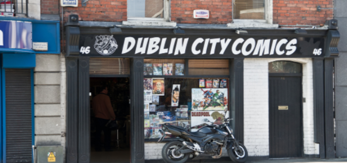 Dublin City comics