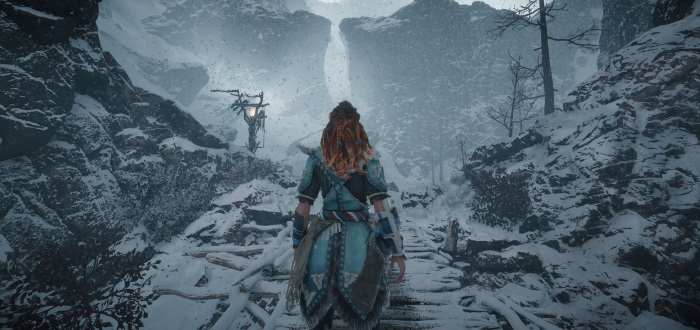 Horizon Zero Dawn The Frozen Wilds launch trailer