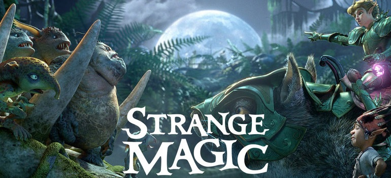 Strange Magic – Screen Savers