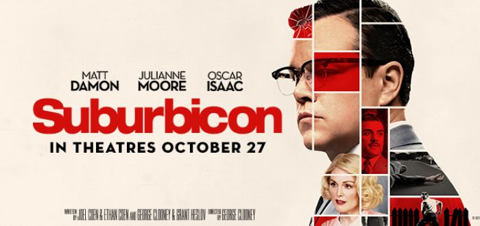Suburbicon Review – Take A Trip To The 1950's