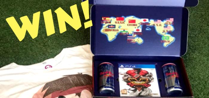 WINNER CHOSEN! Win Street Fighter V 30th Anniversary Swag Pack