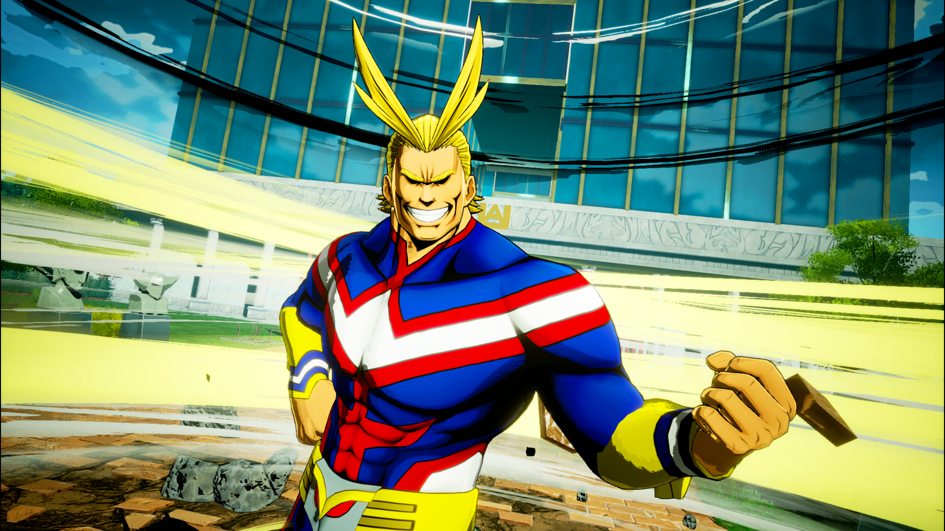 All Might Joins Bandai Namco My Hero Academia Project