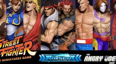 street fighter miniature game