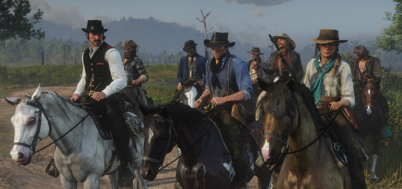 New Trailer And Details For Red Dead Redemption 2