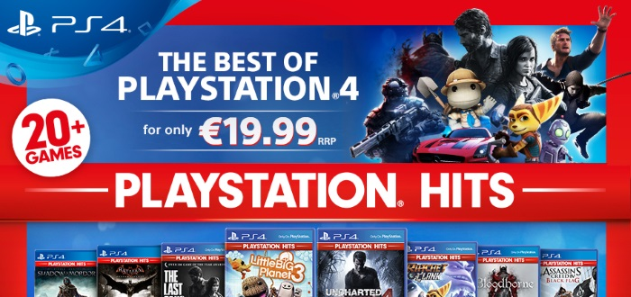 PS4 PlayStation Hits Release This July