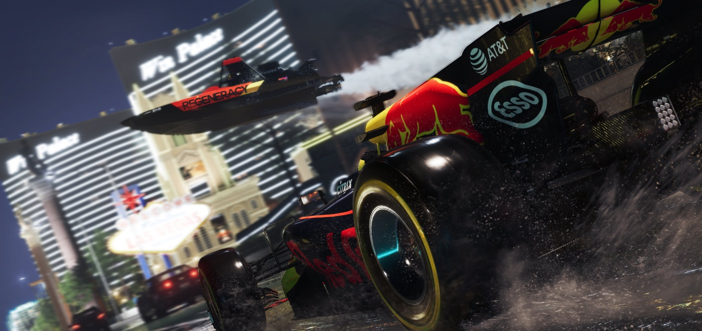 Red Bull And Ubisoft Team Up For The Crew 2