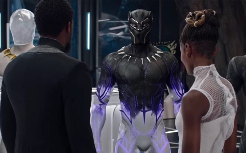 Hidden Message Translated From Black Panther's Suit
