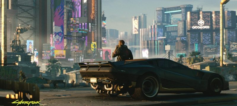 Cyberpunk 2077 gameplay header