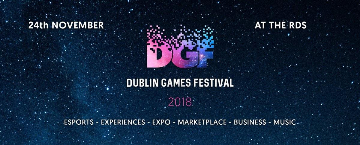 Early Bird Tickets For Dublin Games Festival Now Available